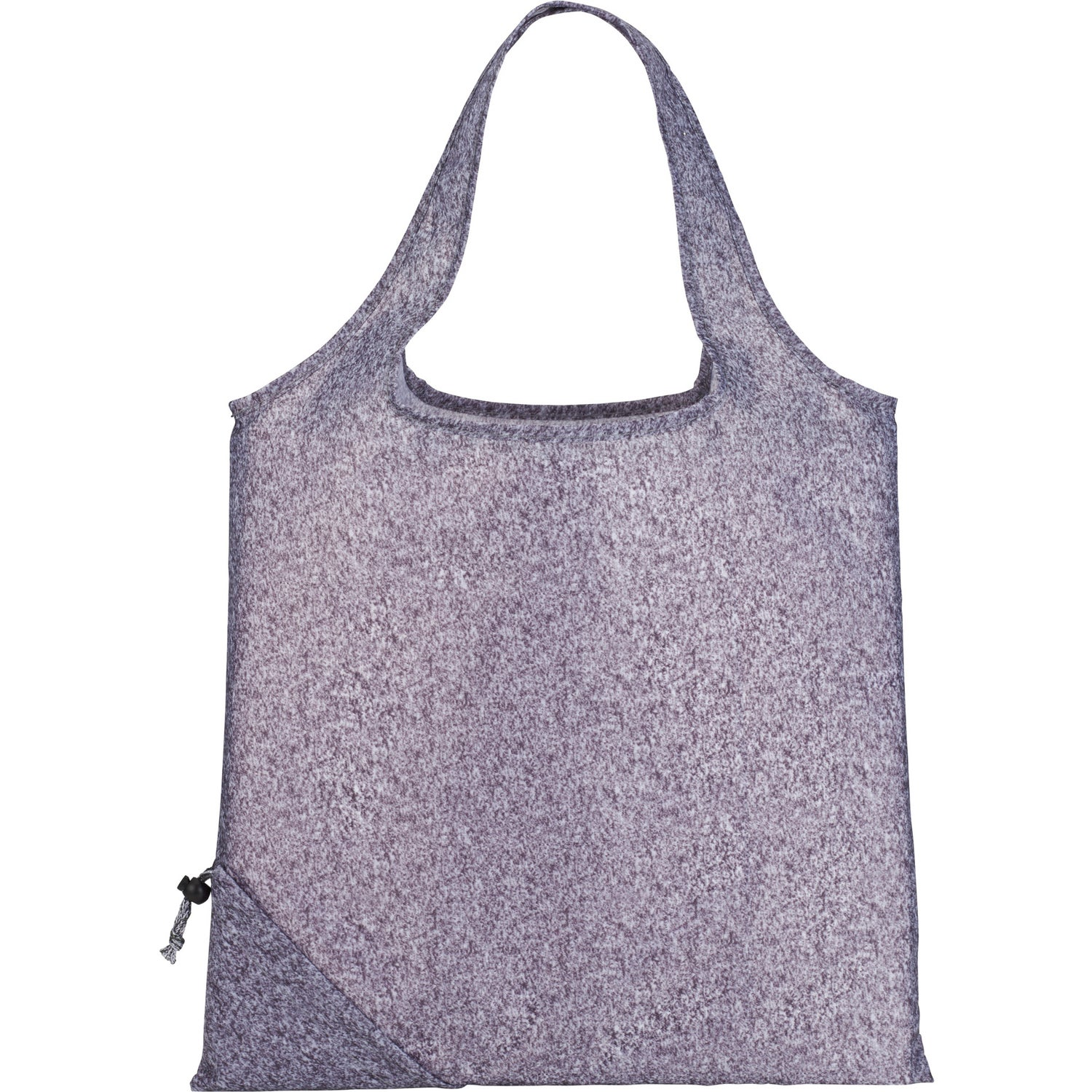 Graphite Bungalow Foldaway Tote Bag