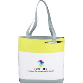 Printed Great White Convention Tote Bag