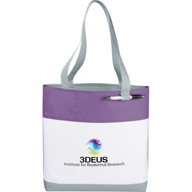 Great White Convention Tote Bag for Your Organization