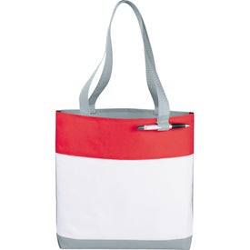 Logo Great White Convention Tote Bag