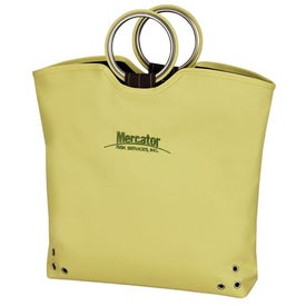 Branded Grip Grommet Tote Bag