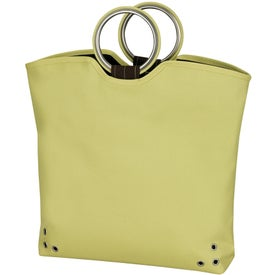 Grip Grommet Tote Bag Imprinted with Your Logo