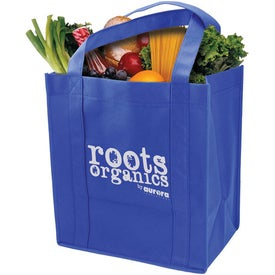 Logo Heavy Duty Grocery Tote