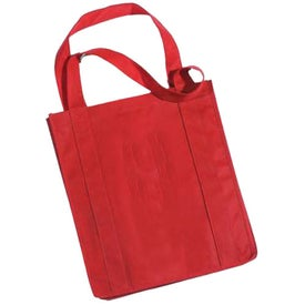 Imprinted Grocery Non-Woven Tote Bag