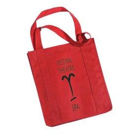 Custom Grocery Non Woven Tote Bag