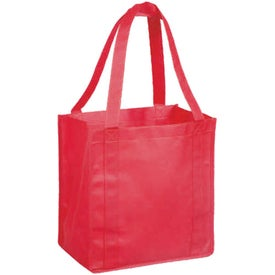 Non Woven Polypropylene Grocery Tote Bag Printed with Your Logo