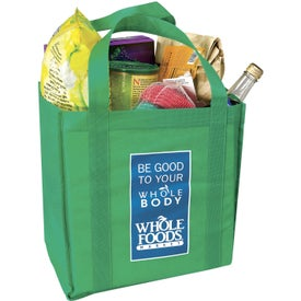 Branded Grocery Tote Bag
