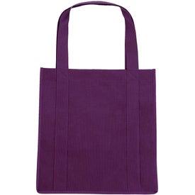 Printed Grocery Tote Bag