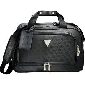Guess Signature Travel Compu-Tote Bag for Customization