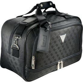 Guess Signature Travel Compu-Tote Bag with Your Slogan
