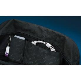 Personalized Guess Signature Travel Compu-Tote Bag