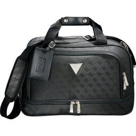 Custom Guess Signature Travel Compu-Tote Bag
