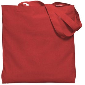 Customized Gusseted Economy Tote Bag