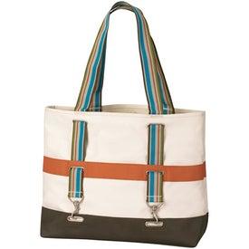 Logo Hamptons Grommet Tote Bag