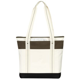 Hamptons Weekend Tote Bag Imprinted with Your Logo