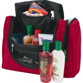 Hanging Toiletry Tote Bag Imprinted with Your Logo