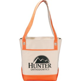 Harbor Boat Tote with Your Slogan