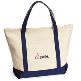 Harbor Cruise Boat Tote Bag