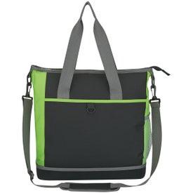 Hard Bottom Shopping Kooler Tote Bag