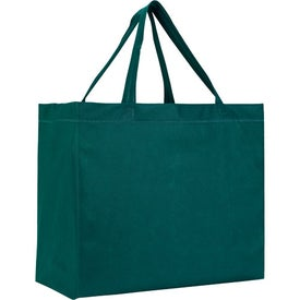 Heat Sealed Non-Woven Grande Tote Bag Imprinted with Your Logo
