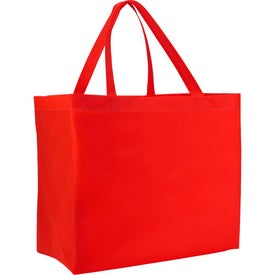 Heat Sealed Non-Woven Grande Tote Bag with Your Slogan