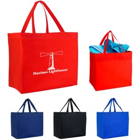 Monogrammed Heat Sealed Non-Woven Grande Tote Bag