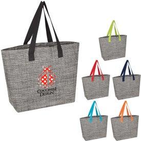 Heathered Mesh Tote Bag
