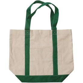 Heavy Cotton Canvas Tote Imprinted with Your Logo