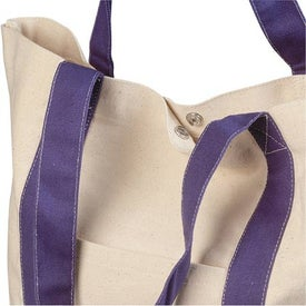 Monogrammed Heavy Cotton Canvas Tote