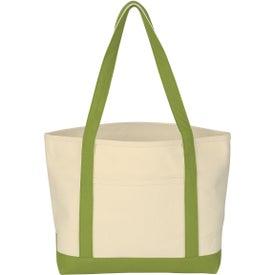 Custom Heavy Cotton Canvas Boat Tote Bag