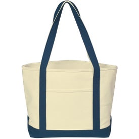 Customized Heavy Cotton Canvas Boat Tote Bag