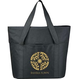 Heavy Duty Zippered Tote Bag for Marketing