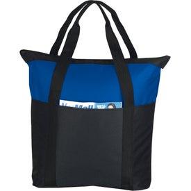Custom Heavy Duty Zippered Tote Bag