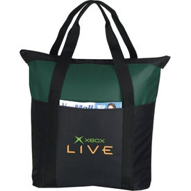 Heavy Duty Zippered Tote Bag for Your Church