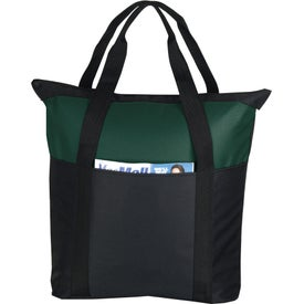 Promotional Heavy Duty Zippered Tote Bag