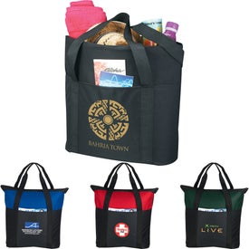 Heavy Duty Zippered Tote Bag for Your Organization
