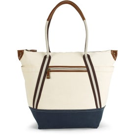 Heritage Supply Oasis Cotton Boat Tote Bag