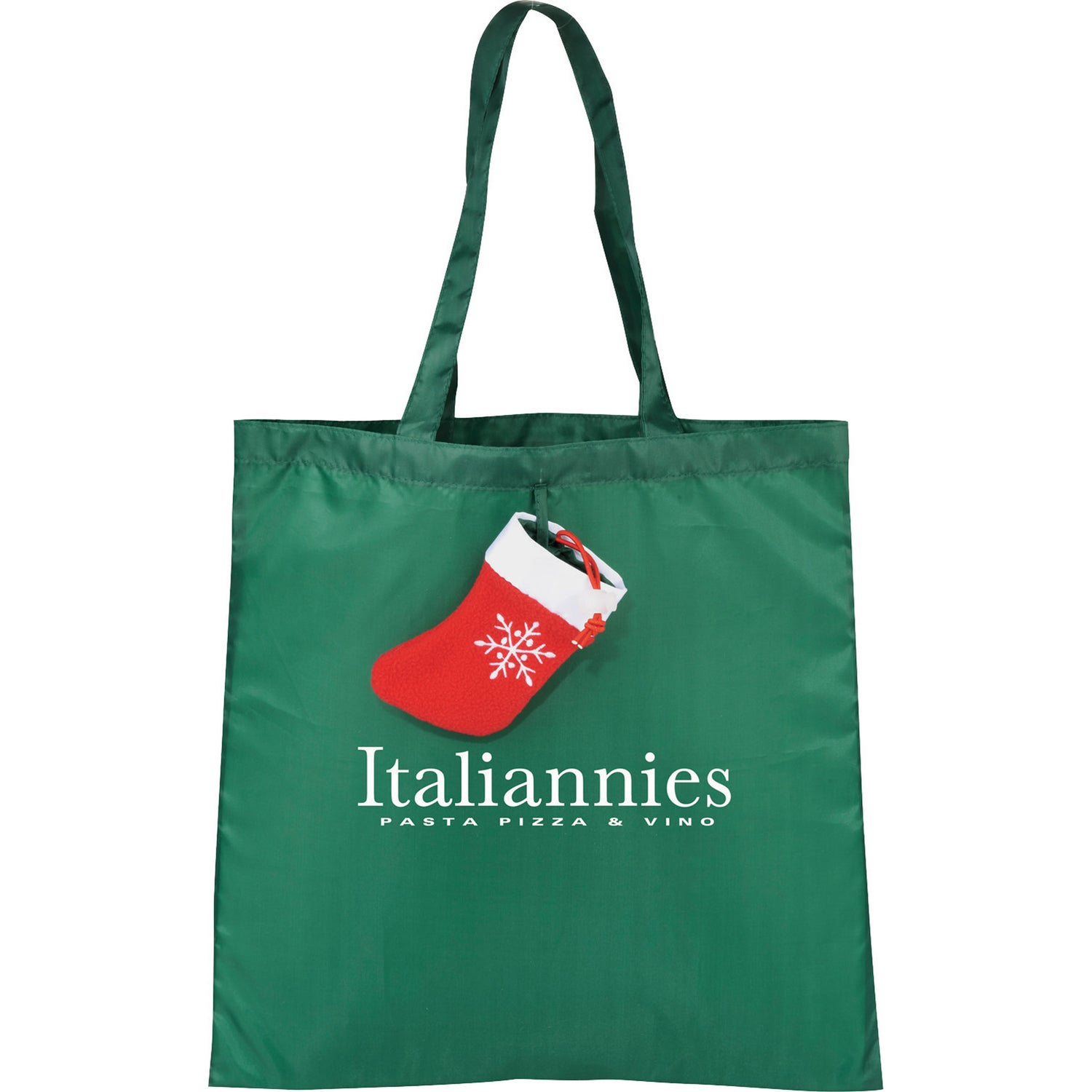 Holiday stocking tote bag personalized bags ea