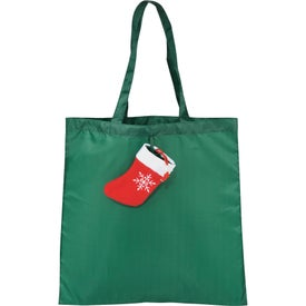 Holiday Stocking Tote Bag for Promotion
