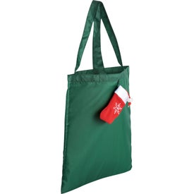 Holiday Stocking Tote Bag for Customization