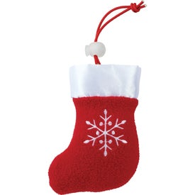 Branded Holiday Stocking Tote Bag