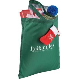 Holiday Stocking Tote Bag