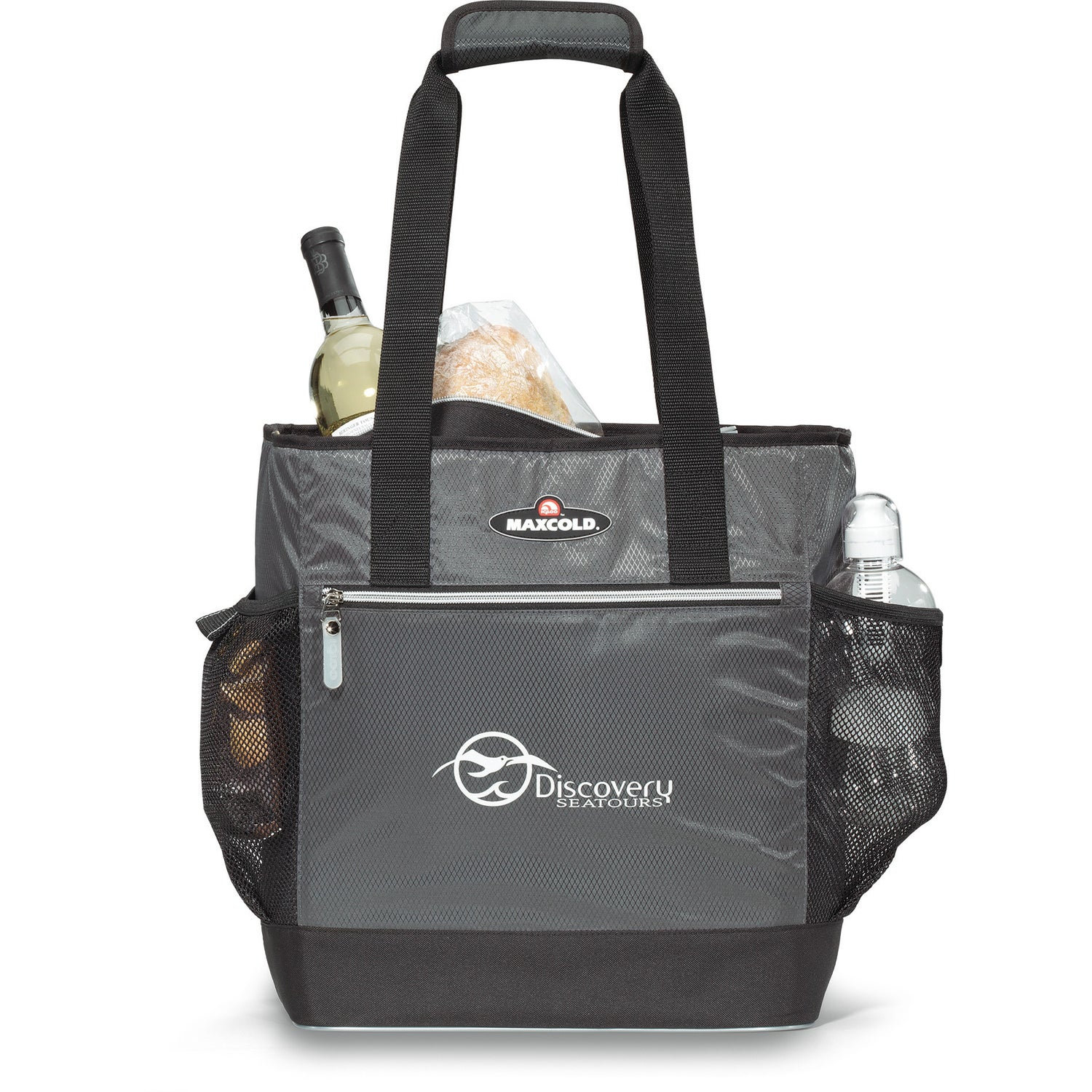 Gunmetal Grey Igloo Maxcold Insulated Cooler Tote Bag For Advertising