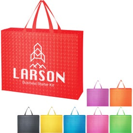 Illusion Laminated Non-Woven Tote Bag