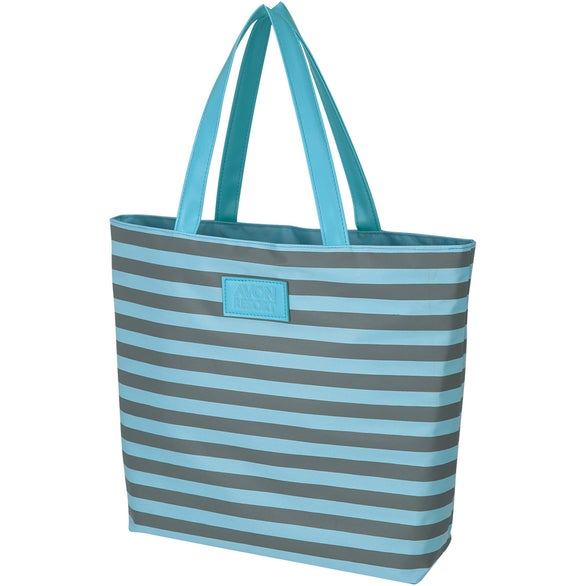 Light Blue / Gray Impact Maker Tote Bag