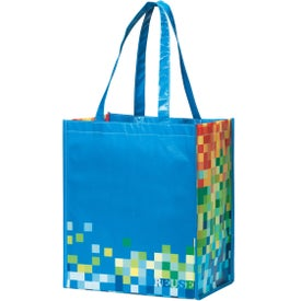 Company Inspirations Laminated Shopper Tote Bag