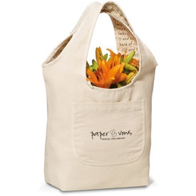 Inspirations Reversible Cotton Tote Bag