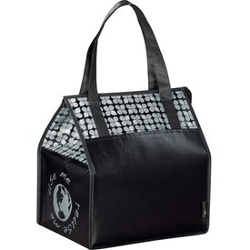 Custom Laminated Non-Woven Insulated Big Grocery Tote