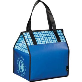Laminated Non-Woven Insulated Big Grocery Tote for Promotion