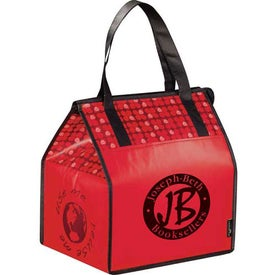Laminated Non-Woven Insulated Big Grocery Tote Printed with Your Logo